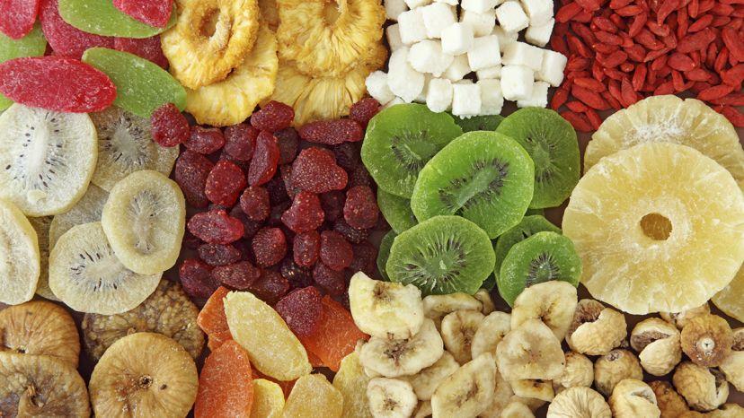 L'industrie de séchage de fruit