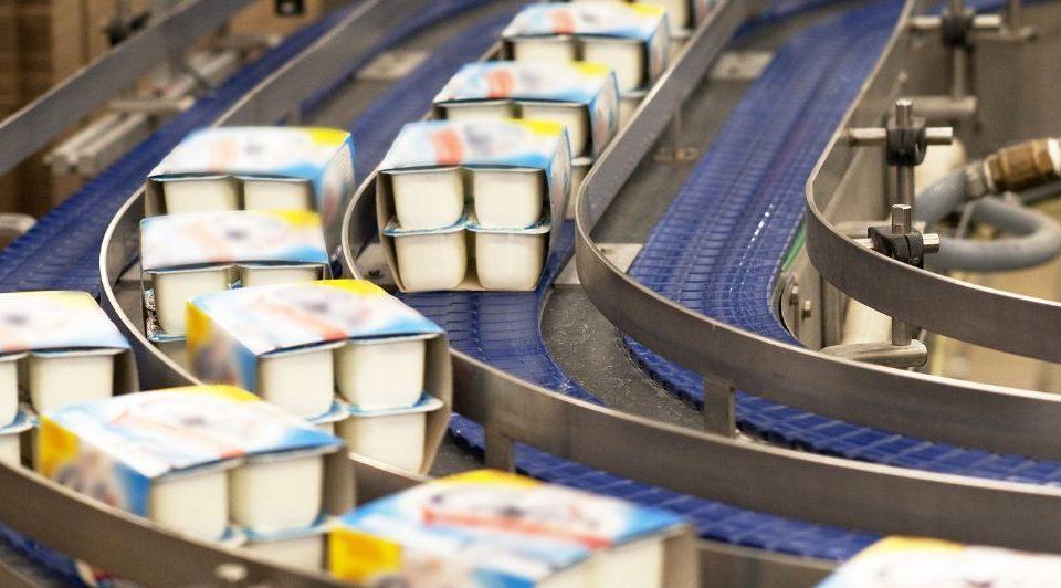 L'industrie des produits laitiers
